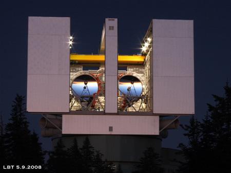 Lucifer Telescope - UofAz - Vatican
