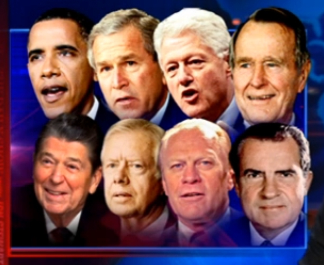 8 US Presidents