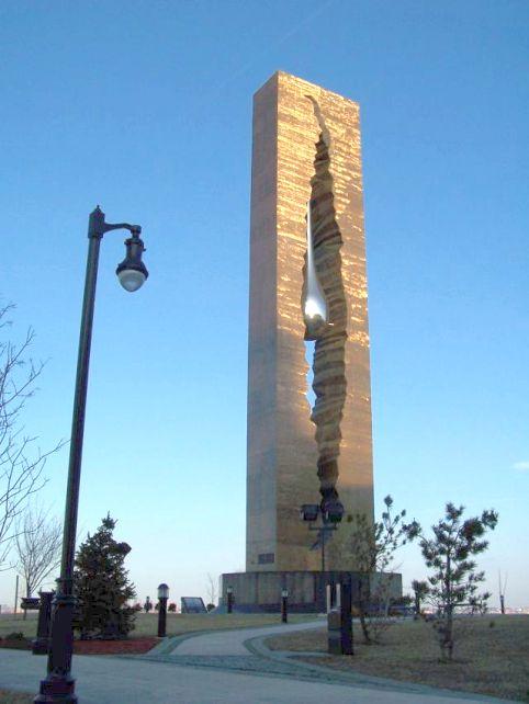 9/11 Teardrop Monument