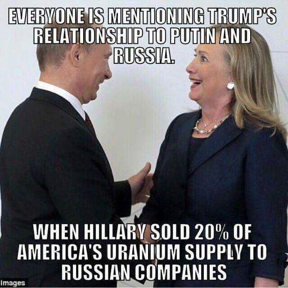 Putin & Clinton