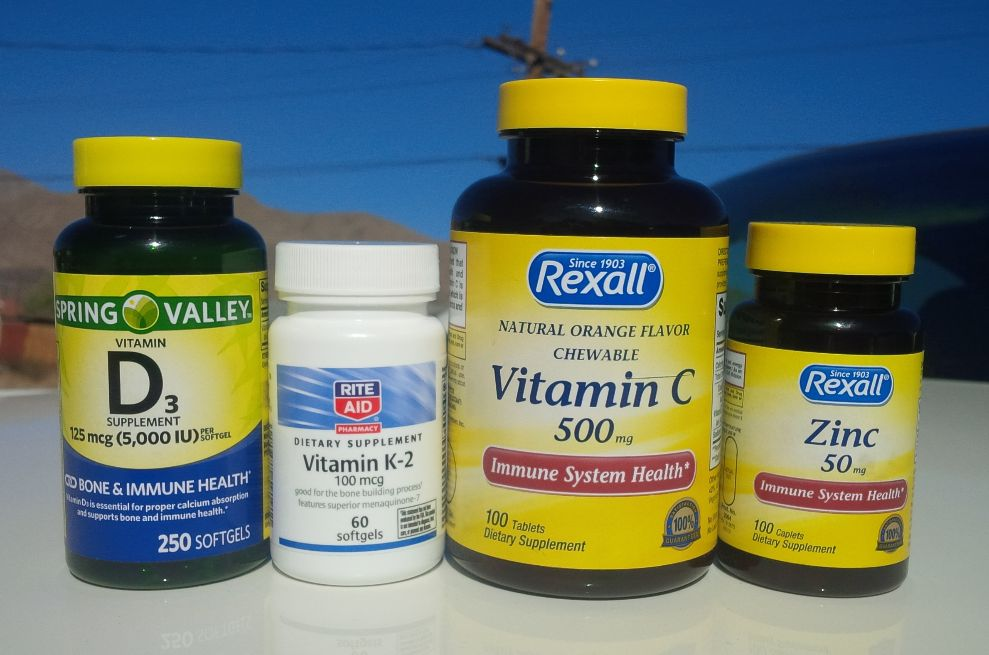 Vitamins to prevent catching Covid 19