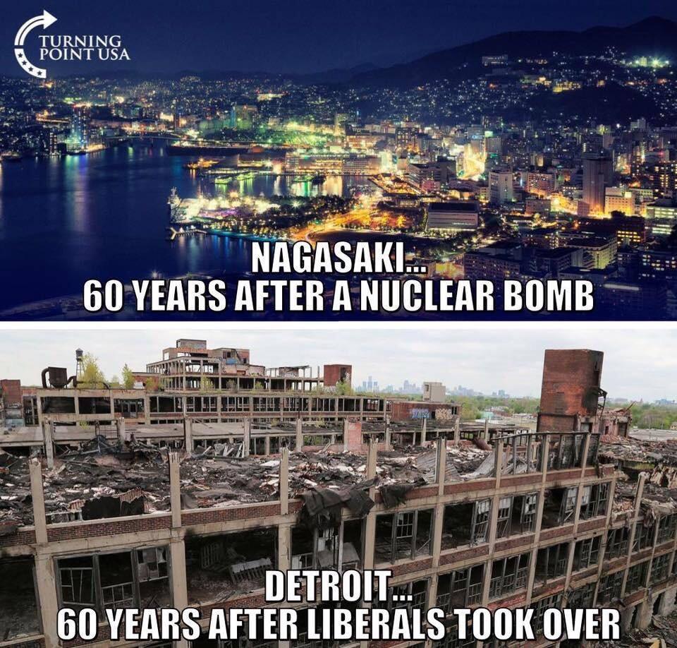 Detroit - Nagasaki 60 years later