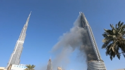 Dubai Address Hotel Fire 1-1-2015
