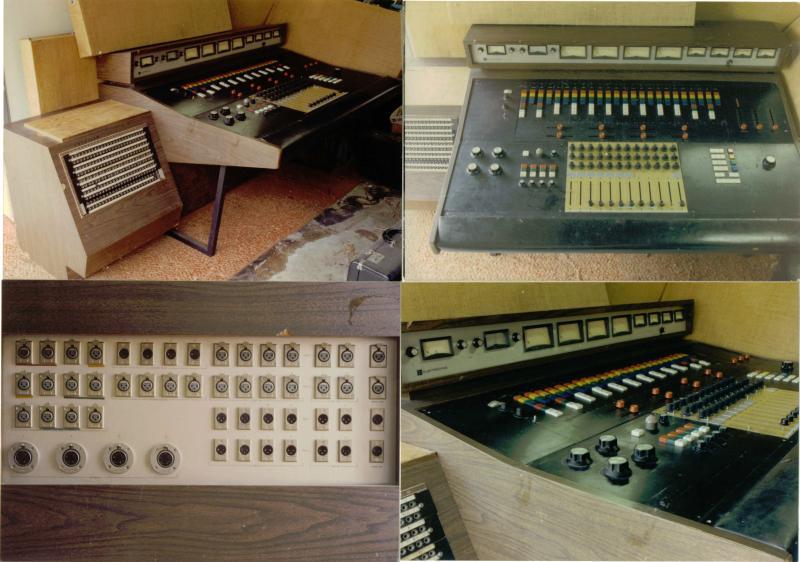 Electrodyne Mixer - vintage 1968 - 12x4