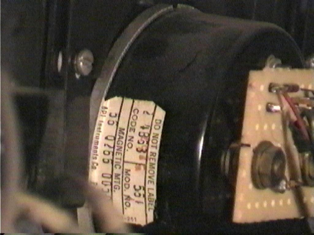 Electrodyne Meter - 2