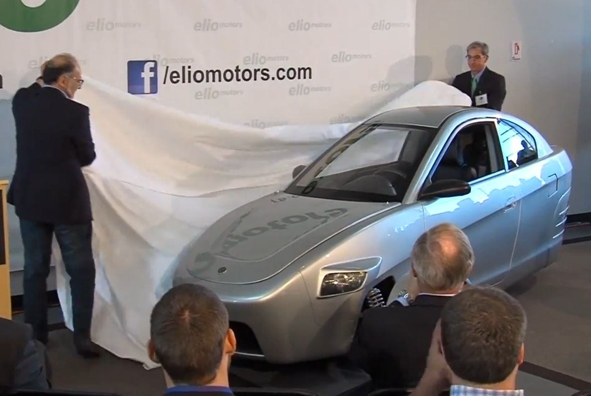 Elio unveiling May 8, 2013