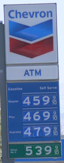 Gas 6-6-2008