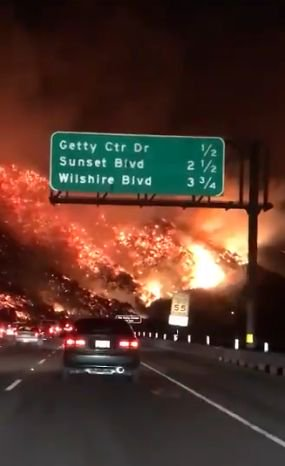 Los Angeles fire 12-6-2017