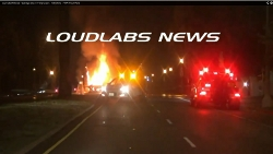 Michael Hastings vehicle crash scene