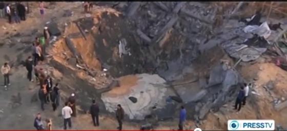 Israelie Missile strike