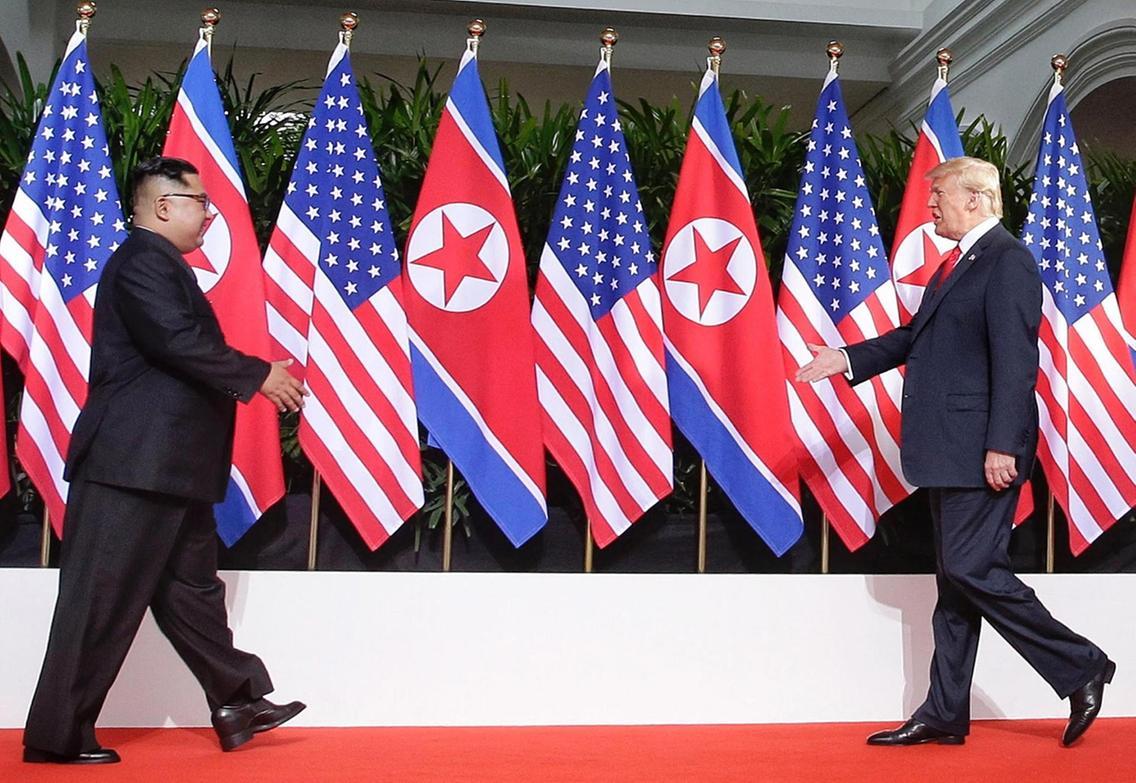 Kim - Trump June 12, 2018