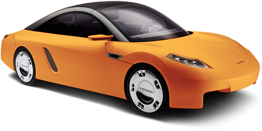 Orange Cars Loremo LS Concept