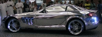 Sheik's Mercedes