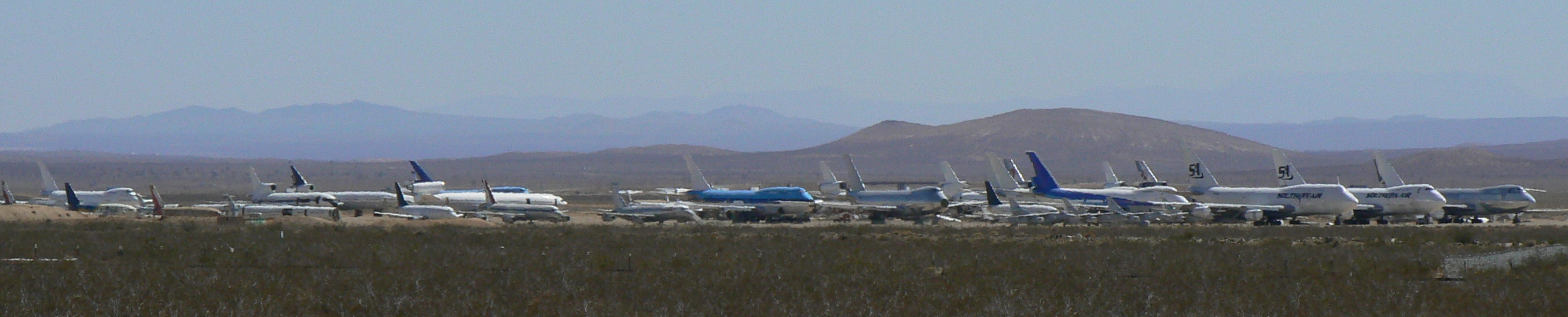 Mojave mothballed 9-23-2009