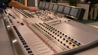 Digital audio console