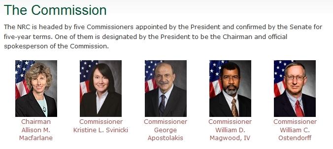 NRC Commisioners
