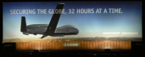 Predator drone billboard