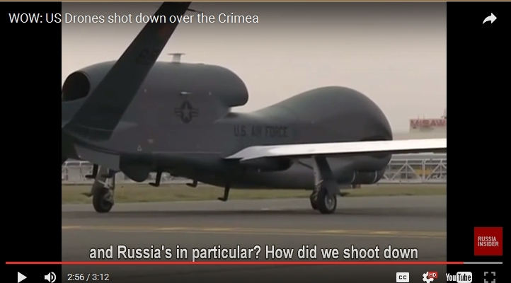 Global Hawk at Crimea airport