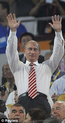 Putin Beijing 8-8-2008