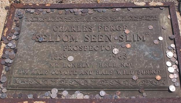 Seldom Seen Slim gravesite