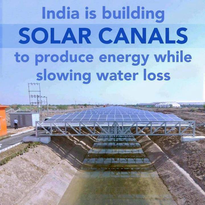 Solar Canal Covers