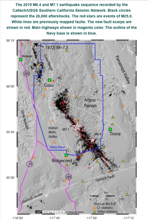 Trona/Ridgecrest July 4&5, 2019 earthquakes