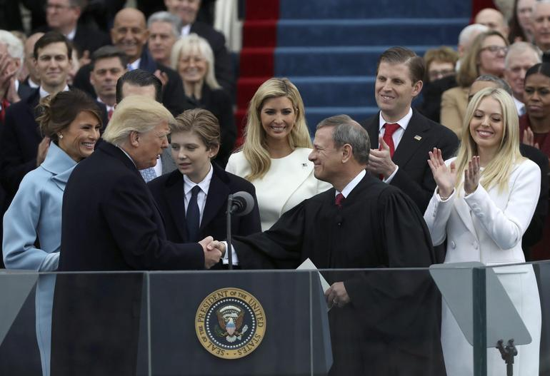 Donald J Trump: President