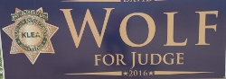 Wolf for Judge