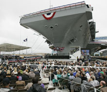 GHWBush Aircraft Carrier