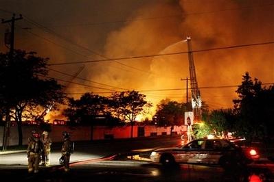 Toronto Canada propane explosion