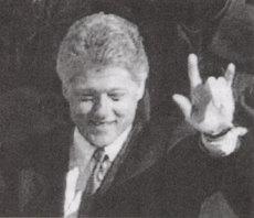 Clinton hand signal