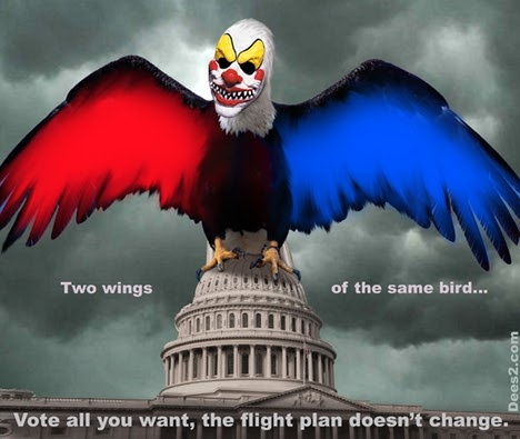 Congress = L & R wings of same bird