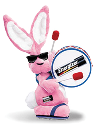 Energizer Bunny Rabbit