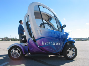 Hydrogenics Fuel Cell Vehicle