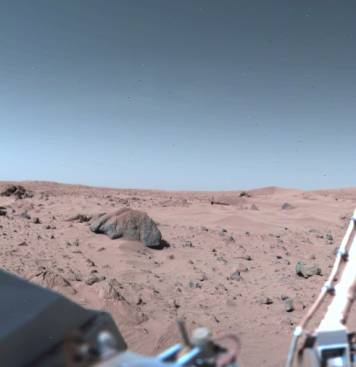 Mars Sky = BLUE, not red