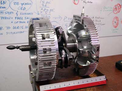 Massive Yet Tiny Motor