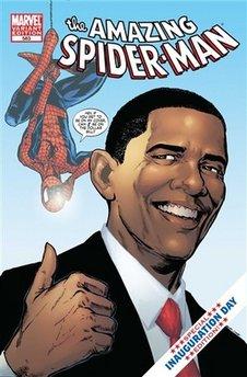 Obama spider web