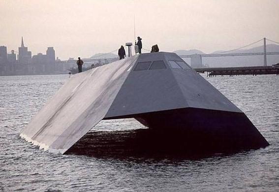 Sea Shadow - stealth watercraft