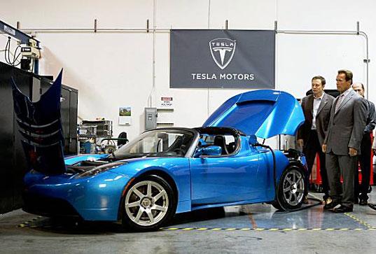 Tesla-Swartzenegger