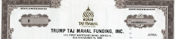 Trump Taj Mahal junk bond